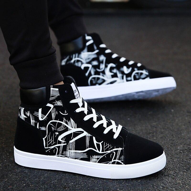 Фото - Кеды мужские высокие, мягкие удобные холщовые кроссовки, модная повседневная спортивная обувь drunknmunky высокие кеды и кроссовки