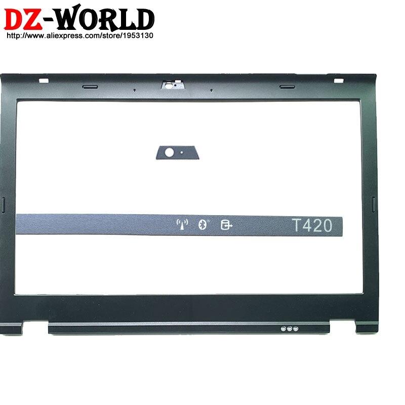 Новый ЖК-экран с передней панелью для Lenovo ThinkPad T420 t420i w/светодиодный индикатор модели камеры наклейка 04W1609