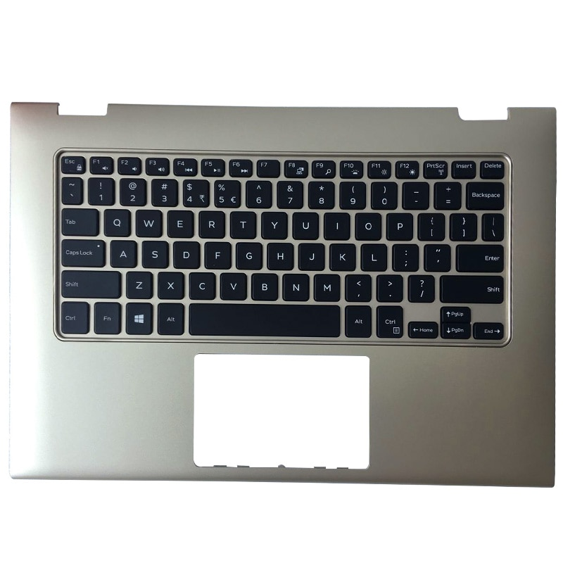 genuine us english layout keyboard for dell inspiron 15 7537 15 7537 15 7000 7000 laptop keyboards backlight silver gray frame NEW Silver Red Gold Notebook For Dell inspiron 13 7000 7347 7348 7359 Laptop Case Palmrest Upper Case With Backlight Keyboard