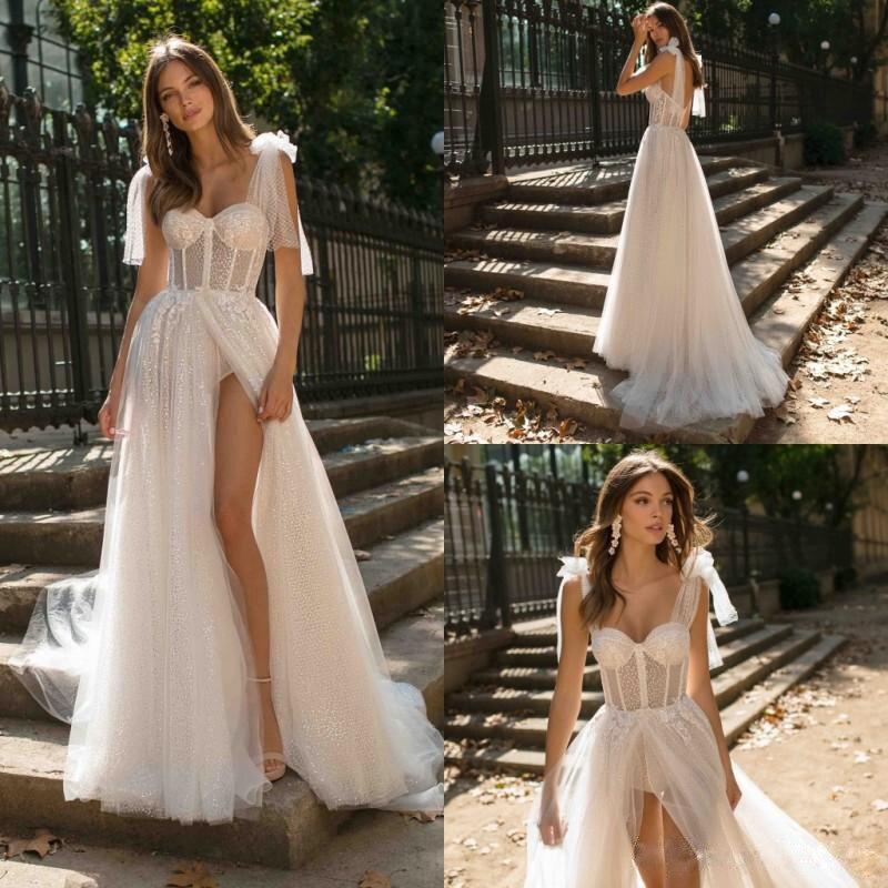 CloverBridal-vestido de boda para verano, ropa de novia para boda, boda civil,...