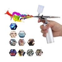 airbrush set facial makeup oxygen kit rechargeable spray pen for cake deraction coloring model nail art face spa tattoo