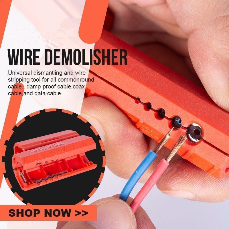 Устройство для снятия изоляции, устройство для снятия изоляции, мини-устройство для обжима проводов, инструмент для обрезки проводов