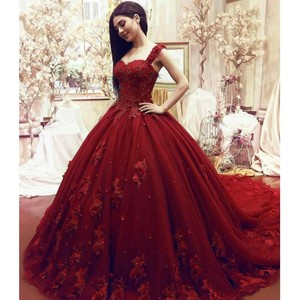Woman Prom Evening Dresses 2020 Ball Gown Long Party Night Elegant Plus Size Arabic Formal Dress Gown
