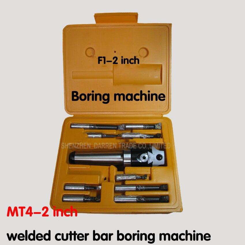 أفضل جودة MT4 تفتق ، F1-12 50 مللي متر مملة رئيس مع MT4 عرقوب و 9 قطعة 12 مللي متر القضبان مملة ، مملة رئيس مجموعة