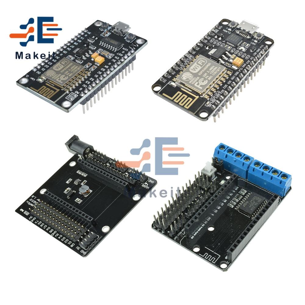 ESP8266 NodeMCU V2 V3 ESP-12E CH340 CP2102 Development Board Wireless Module WIFI IoT Motor Drive Board L293D Based ESP12E недорого