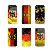 Original Germany Flag For Apple iPhone X XR XS 11Pro MAX 4S 5S 5C SE 6S 7 8 Plus ipod touch 5 6 Acce