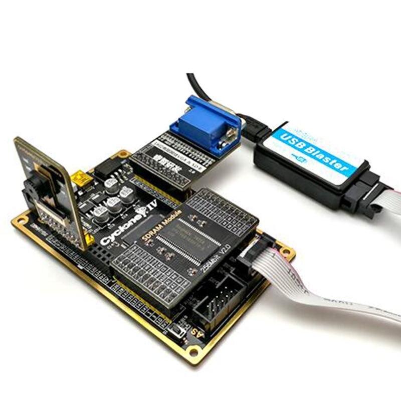Altera FPGA Development Board Kit CYCLONE IV EP4CE основная плата + модуль камеры + VGA модуль + USB Blaster + SDRAM модуль