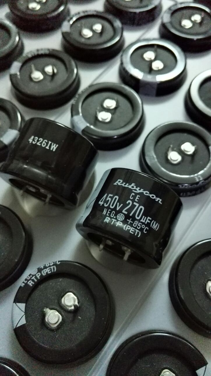 4pcs/10pcs 450V270UF Japan RUBYCON 270UF/450V 35X25 RTP top grade filter free shipping