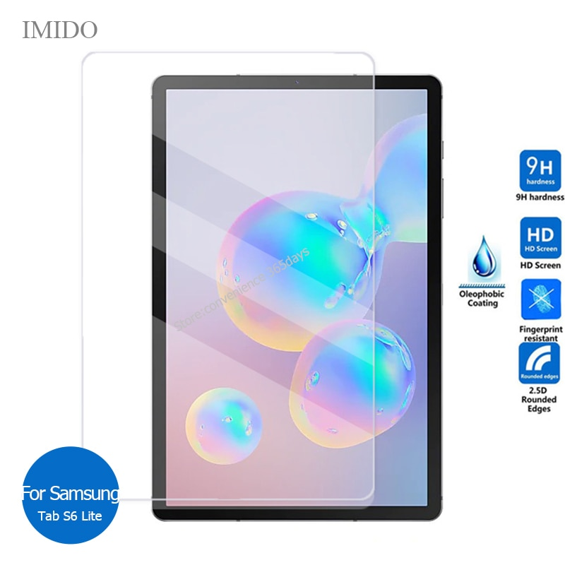 For Samsung Galaxy Tab S6 Lite tempered glass screen protector 9H Safety Protective Film on S 6 Lite SM P610 P615 P 610 615