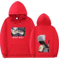 japanese anime unisex hoodie sweatshirt hip hop streetwear hooded tops autumn and winter models