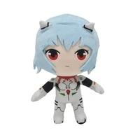 rei plush toys kawaii eva ayanami rei plush doll anime figure stuffed plush toy christmas birthday gift for kids princess pillow