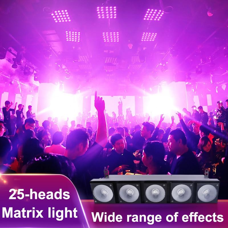 Matrix Light DMX Light Stage Show Matrix Wash DJ Light Linear Blinder LED Stage 5 Heads with 5*30W RGB 3 In 1