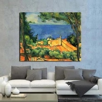 paul cezanne wallpaper canvas painting print living room home decoration artwork modern wall art oil painting posters pictures