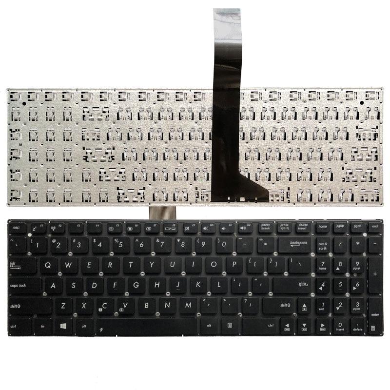 US Laptop Keyboard For ASUS X550 X550LA X550LB X550LC X550LD X550LN X550VB X550VC X550VL English Black without frame