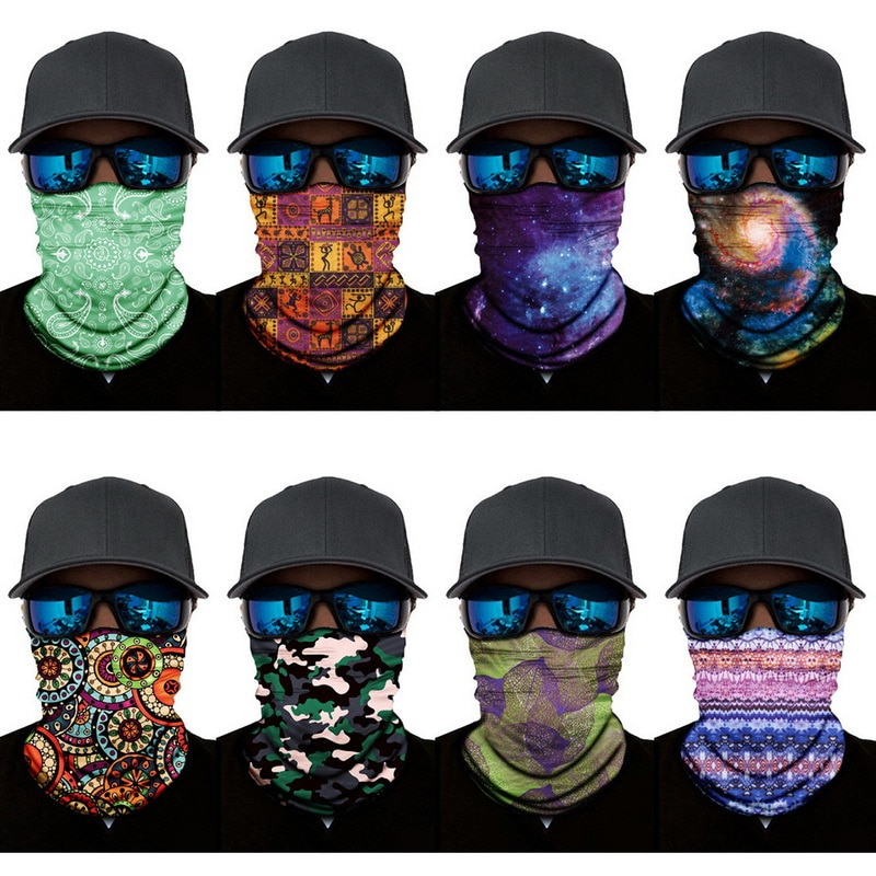SFIT Bandana Multifunctional Outdoor Sport Magic Scarf Neck Warm Hiking Cycling Face Head Wrap Cover