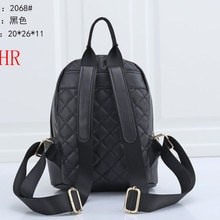 2068 Women Backpack high quality Leather Women Bag Fashion School Bags Travel Backpacks mochila