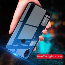 Gehärtetem Glas Fall für Xiaomi Redmi Hinweis 8 7 6 K20 Pro Fall für Redmi 7 7A 6A 6 Pro 5 Plus Gradienten Glänzend Bunte Abdeckung Fall