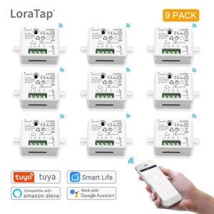 DIY WiFi Smart Light Switch Universal Breaker Timer Smart Life APP Wireless Remote Control Works with Alexa Google Home Voice