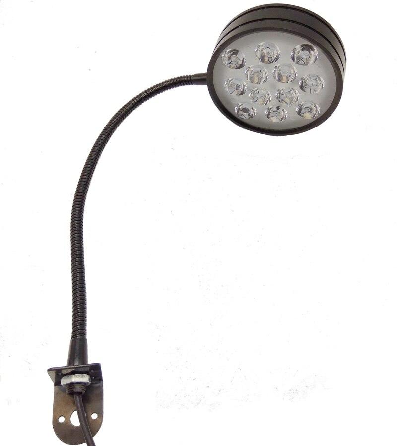 110V 220V 12W  GOOSENECK MACHINE LIGHT LED