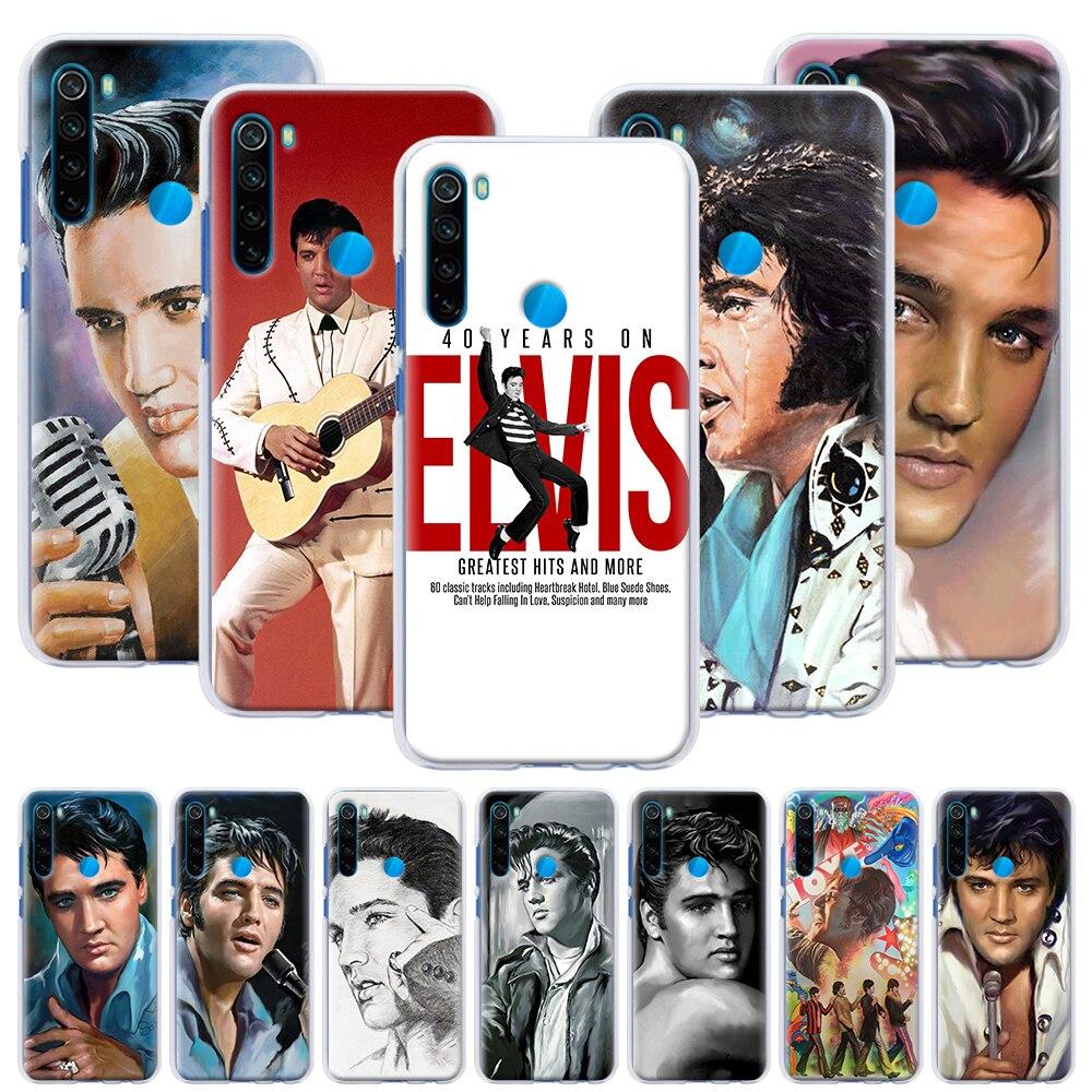 Super Star King Elvi Presley, funda rígida para Xiaomi Redmi Note 6 7 8 Pro 8T 9S 9 Pro 6A 7A 8A K20 K30 Pro, funda para teléfono