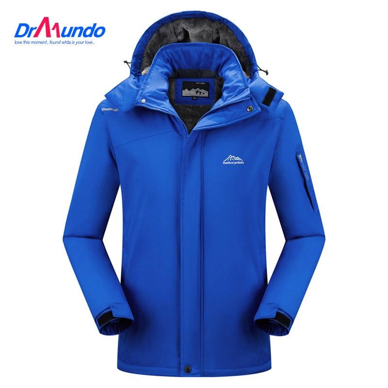 2021 лыжная куртка, Мужская водонепроницаемая флисовая куртка для походов, теплое пальто для улицы, зимние куртки, зимняя одежда для лыжного с...