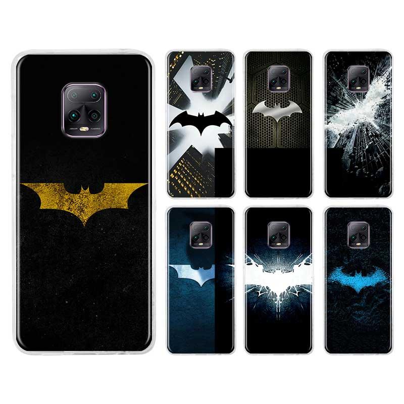 Cool Marvel Batman Logo Tpu Case for Xiaomi Redmi Note 8T 8 9S 9 7 10X K30 Pro Zoom K30i 5G 6 K20 Fundas Capa Phone Coque