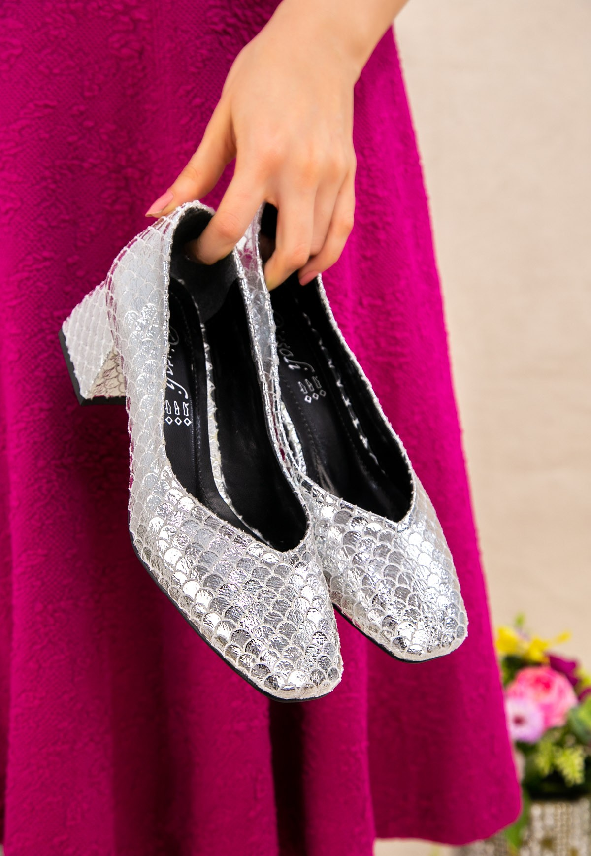 Modi Silber Dekoriert Heels Schuhe נעלי אופנה חדשות лучшее за 2021 год Mode