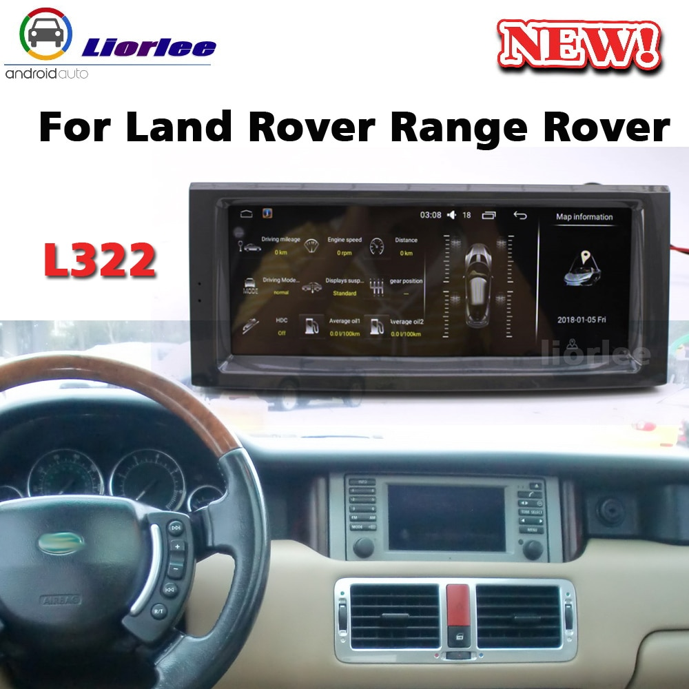 Car Multimedia Audio Player For Land Rover Range Rover Vogue L322 V8 2001-2013 Radio Android Stereo Head Unit Navigation System erick s wiper 2pcs front windshield wiper arm lock clip fixing retaining clips for land rover range rover l322 2002 2012