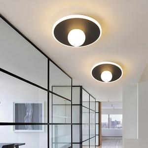 Modern LED Ceiling Lights Living room Bedroom Hallway Balcony Lamp Interior Lighting Surface Mounted Square LED Ceiling Light