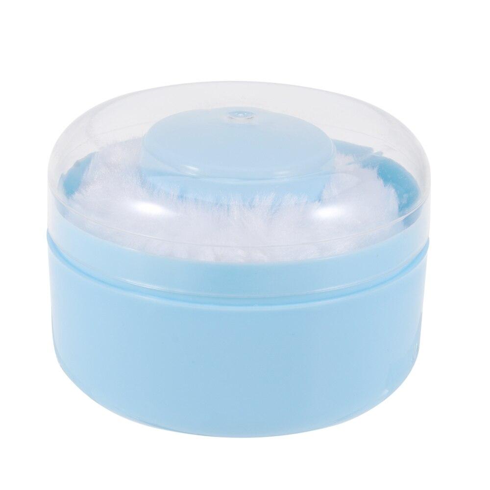 2 uds. Polvo esponjoso para cuerpo, caja de polvo de talco, Kits de contenedor de hojaldre con polvo para bebé