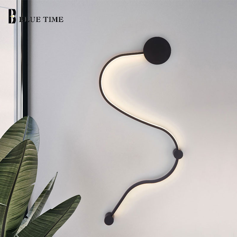 Modern Led Wall Lamp 110v 220v Sconce Wall Light for Home Living room Bedroom Dining room Kitchen Wall Led Lamps Bedside Lights