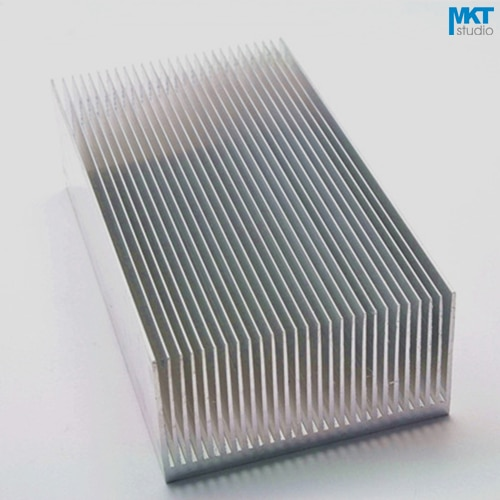 1Pcs Comb Type 130x69x36mm Aluminum Alloy Cooling Fin Radiator Heat Sink For TO-3P, MOS, IC, Amplifier, Power