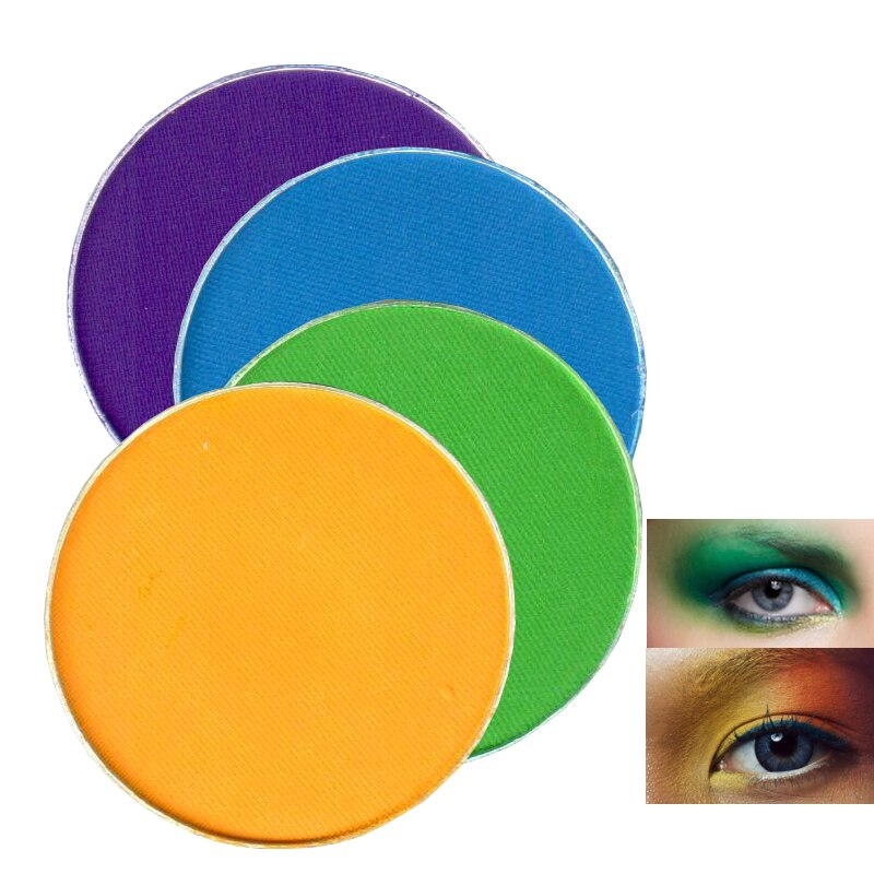 Color Salon 3G Matte Eyeshadow Powder Makeup Single Pigment Brighten Pressed Eye Shadow Color Make Up Cosmetic