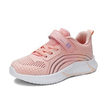 Kids Fashion Sneakers for Boys Girls Mesh Tennis Shoes Breathable Sports Running Shoes Lightweight C