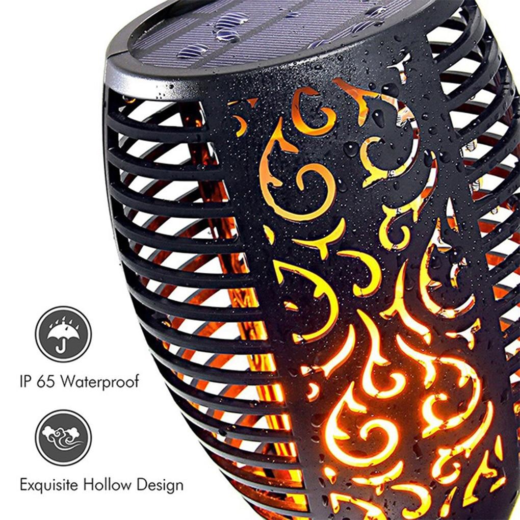 12Pieces Solar Flame Torch Light Flickering IP65 Waterproof Garden Lawn Lamp Street Lamp For Garden Decoration Landscape Lawn enlarge