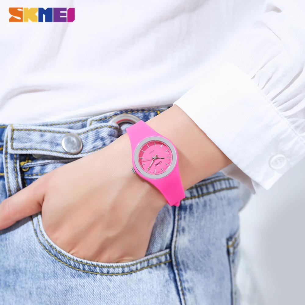 SKMEI Casual Female Clock Top Brand Japan Quartz Movement Women Watches Ladies Wristwatch Relogio Feminino montre femme 1722 enlarge
