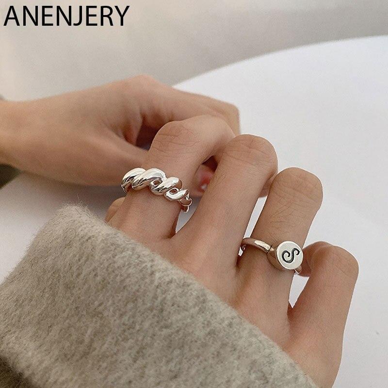 goldria-ручная-работа-925-пробы-Серебряный-твист-открытое-кольца-для-мужчин-и-женщин-парные-кольца-оптом-s-r1002