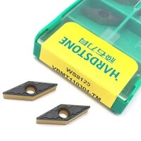 100 original ws8125 vbmt110304 tm turning tools for steel for wc type u drill bit tool carbide inserts cnc lathe cutter