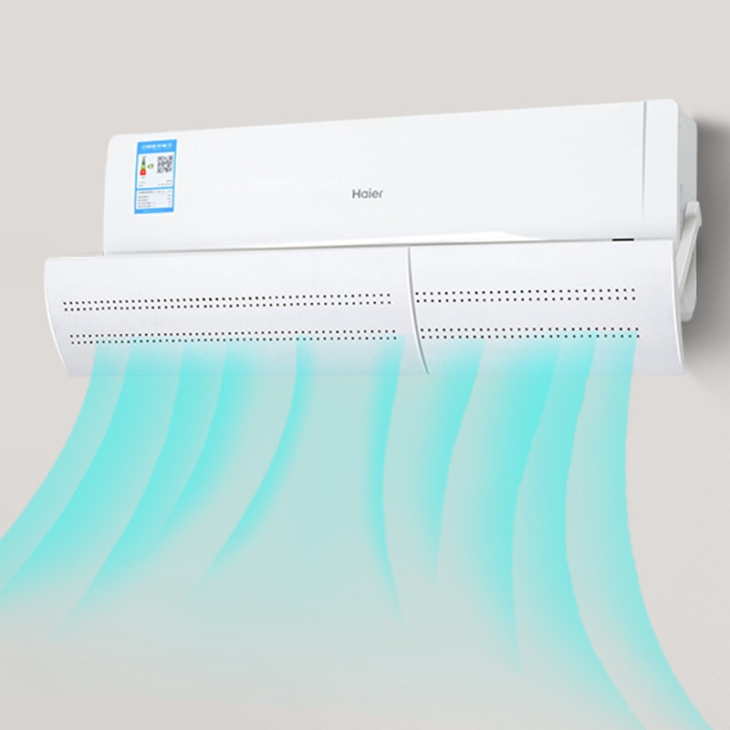 2020 Interior Pendurado-tipo Ar Condicionado Soprando Brisa Anti-direta AC Defletor Defletor de Ar Condicionado Doméstico FC35