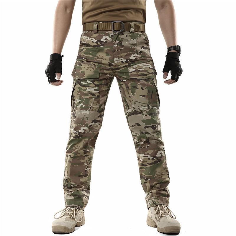 Водонепроницаемые камуфляжные штаны Archon, мужские тактические джоггеры, уличная одежда, армейские военные камуфляжные брюки-карго в стиле м...