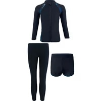 diving swimwear wetsuit full set cute sun protection nylon kids swimming wetsuit surf split equipo de buceo water sports dm50w