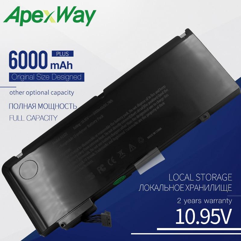 6000mAH New Laptop Battery For APPLE MacBook Pro 13
