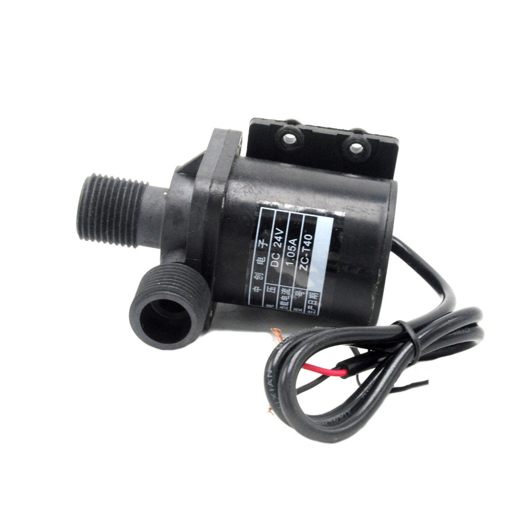 home intelligent water heater circulation system water pump air can automatically return water pump circulation pump 12V 24V DC Brushless Magnetic Hot Water Pump (100 Degrees Celsius) ZC-T40 Water Circulation Submersible Pump