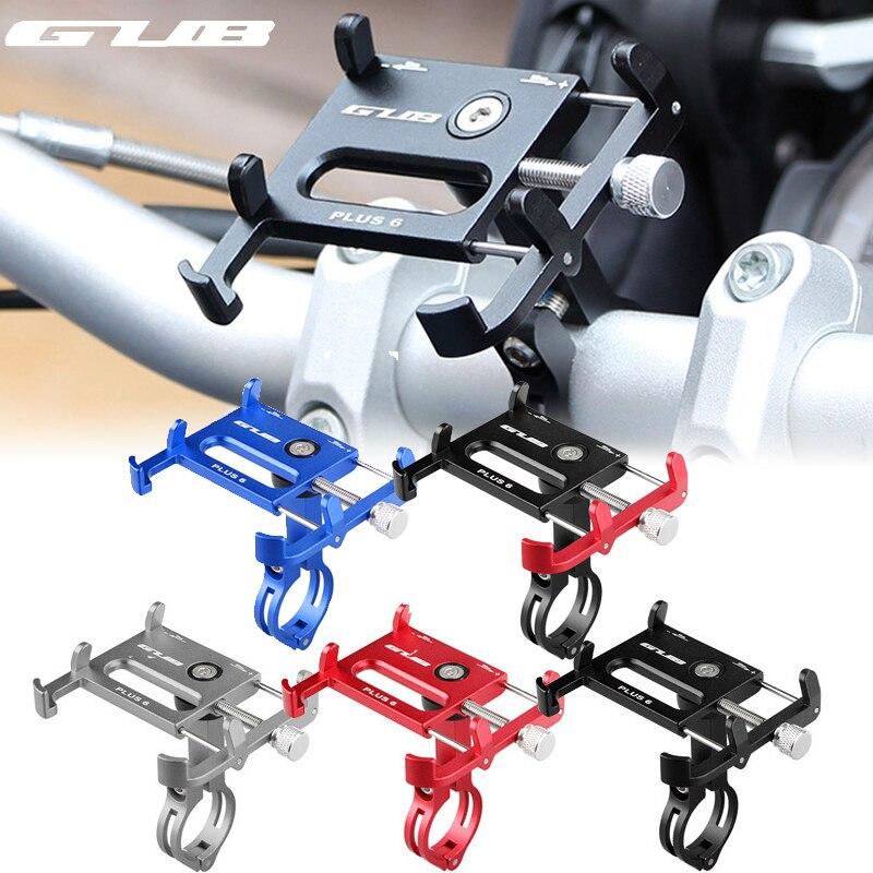 GUB 7 видов цветов велосипедный держатель для телефона с поворотом на 360 градусов