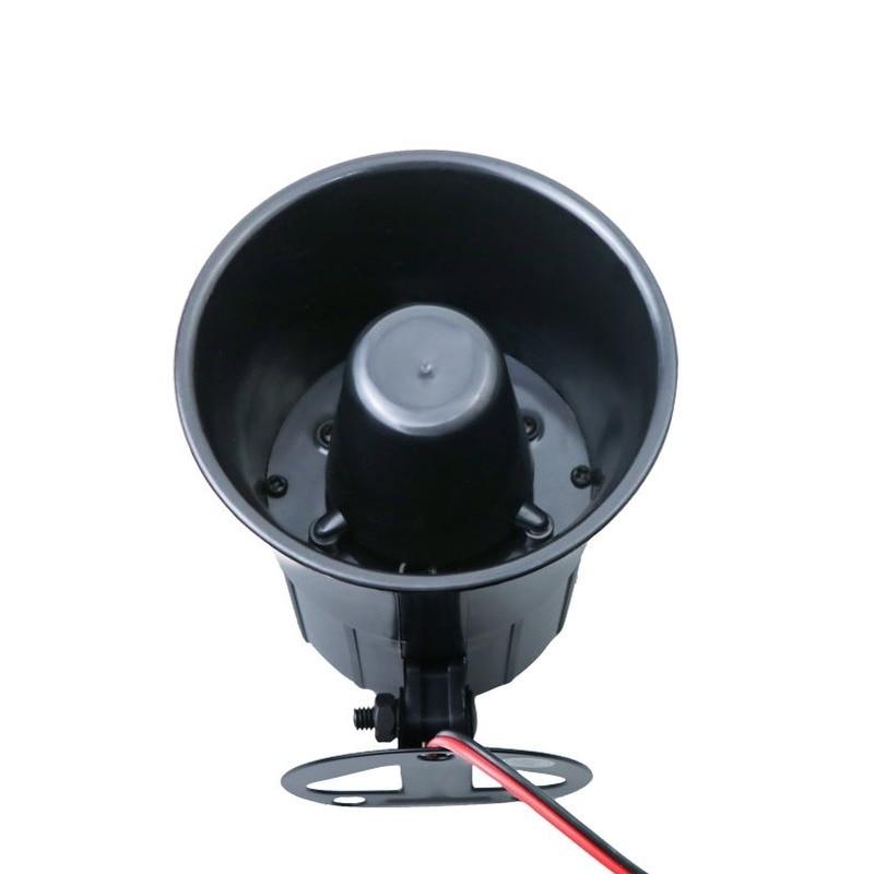 12v Es-626 Sounds Siren Alarm Car Motorcycle Sound Loud Fire Horn System Speaker Automotivo