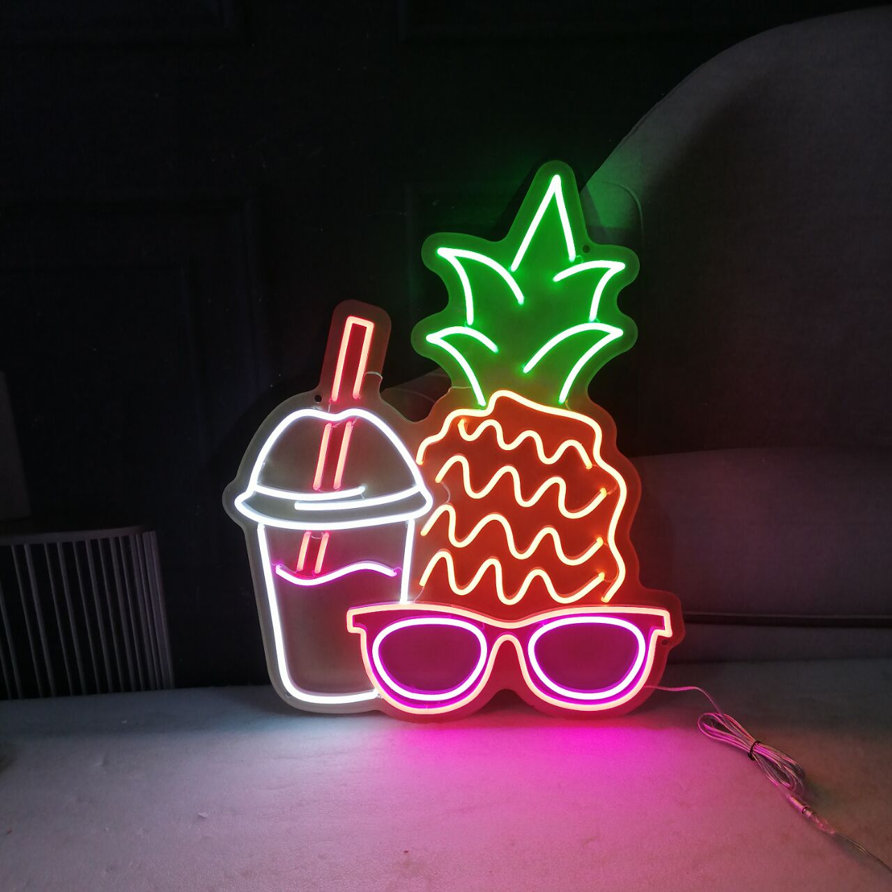 Back To The 80s Logo Custom LED Letter Neon Sign Vintage Wall Decor for Bar Beach Shop Restaurant Party Decorative Light
