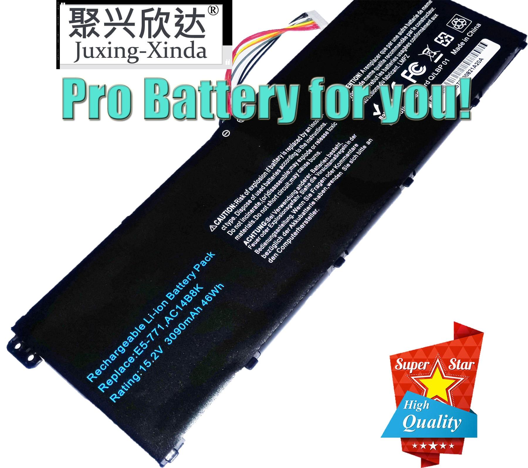 AC14B8K batería del ordenador portátil para Acer Aspire CB3-111 CB5-311 ES1-511 ES1-512 ES1-520 S1-521 ES1-531ES1-731 E5-771G V3-371 V3-111 C810