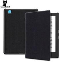 """Ultra slim cover case for Kobo aura H2O edition 2 6.8"""" N867 case cover for Kobo aura H2O 2th 2017 PU leather case+free gift"""