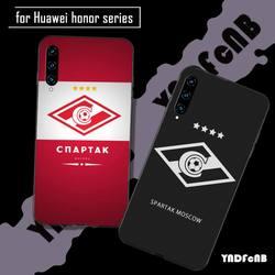 Yndfcnb russo moscou futebol silicone telefone capa para huawei honor 7a 8s 8x 9x 9 10 20s 20 lite v 30 pro jogar funda