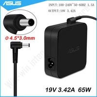 ASUS 19V 3 42 A 65W 4 5 3 0mm AC Laptop Power Adapter Ladegerat Fur ASUS P2520 Q534U EXA1203YH Q534U U500V UX51VZ PU301LA P45V P55V